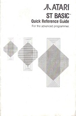Atari ST Basic Quick Reference Guide