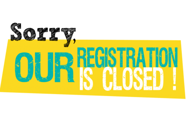 Registrations Closed!!